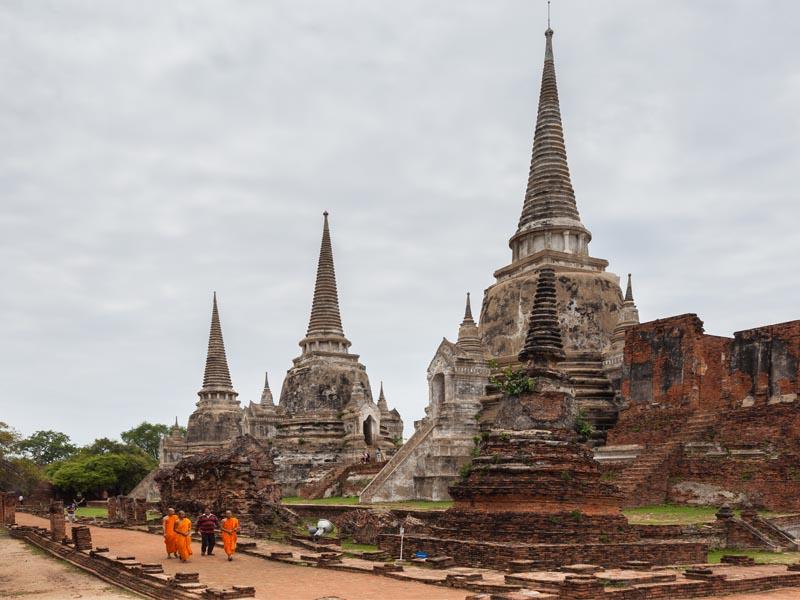 A antiga Ayutthaya