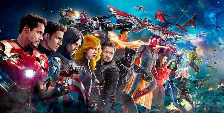 Poster do filme Vingadores: Guerra Infinita