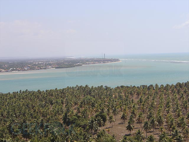 Vista do Mirante da Praia do Gunga