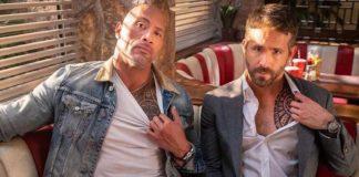 Dwayne 'The Rock' Johnson e Ryan Reynolds comemoraram Hobbs e Shaw no topo da bilheteria por uma segunda semana com uma foto, mostrando as tatuagens de seus personagens.