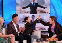 Enquanto hospedava o Ellen DeGeneres Show, Robert Downey Jr. conheceu um jovem fã que afirma que a estrela do Homem de Ferro mudou sua vida.