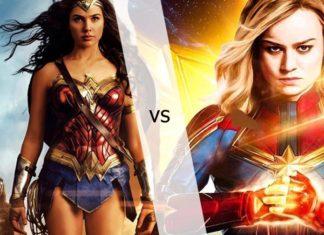 Capitã Marvel e Mulher Maravilha, quem será que leva a melhor?